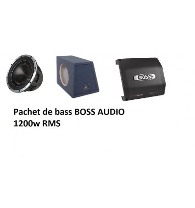 Pachet bass Boss Audio P128