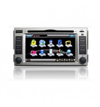 Navigatie dedicata Hyundai Santa Fe DVD auto GPS CARKIT INTERNET NAVD-8908