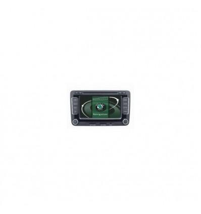 Sistem navigatie + DVD +TV pentru Skoda, Superb, Octavia II, model 6502 sau RNS 510
