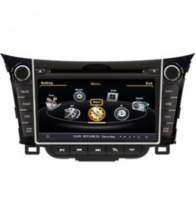 Navigatie Dedicata Hyundai I30 DVD GPS Auto