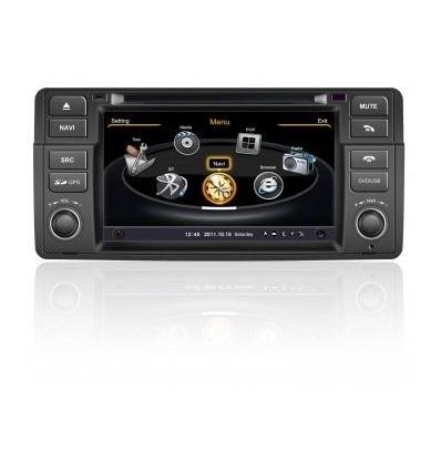 DVD GPS AUTO NAVIGATIE DEDICATA BMW E46