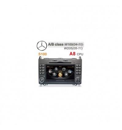 Dvd Gps Auto Navigatie Dedicata Mercedes Benz A B Class / Vito / Viano / Sprinter