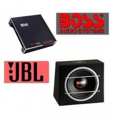 Pachet Bass JBL CS 1215B + Amplificator Boss Audio Phantom PH2.500