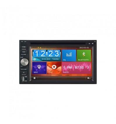 DVD AUTO GPS 2DIN NAVIGATIE CARKIT USB NAVD-D8902