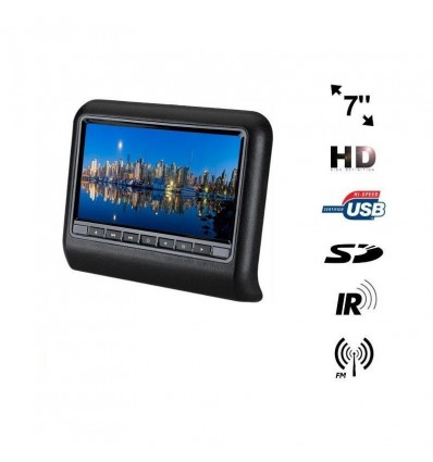 Monitor pentru tetiera cu usb si ecran de 7 inch