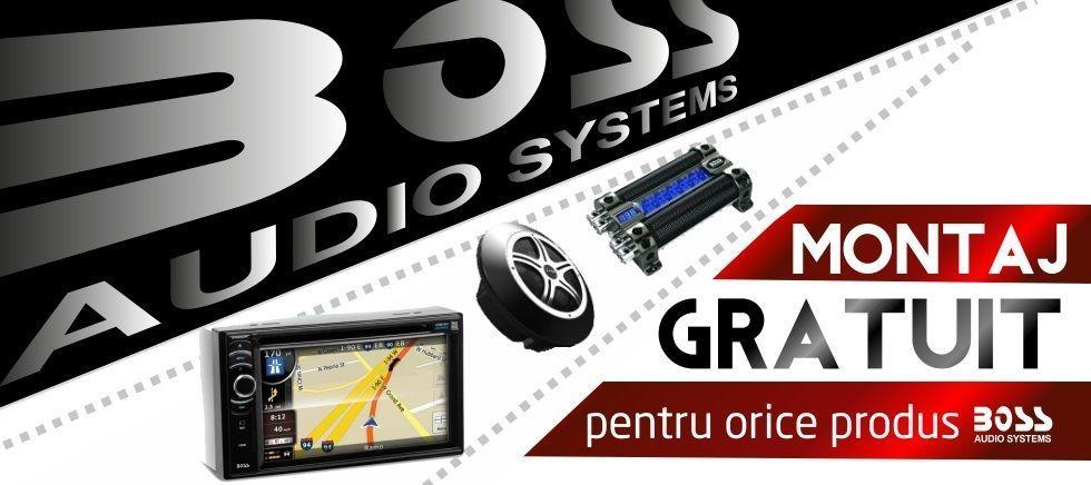 Montaj gratuit pentru orice produs marca BOSS
