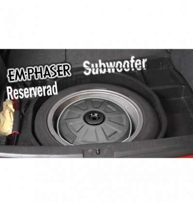 EmPhaser EBS111A subwoofer auto activ pentru roata de rezerva